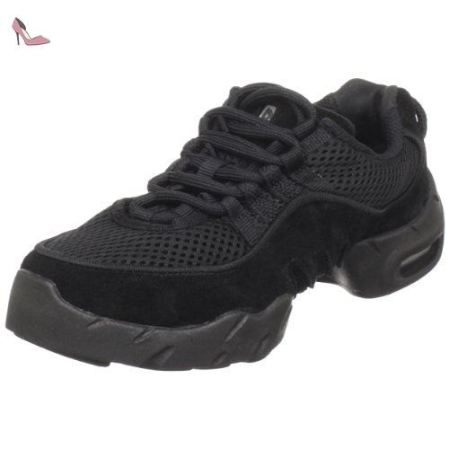 Bloch Boost DRT Mesh - Jazz & Modern Dance Shoes Fille, Noir (Black), 9.5 Child