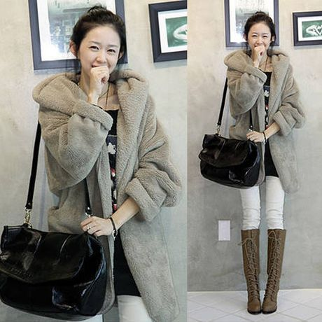 New Cape Style Hooded Coat