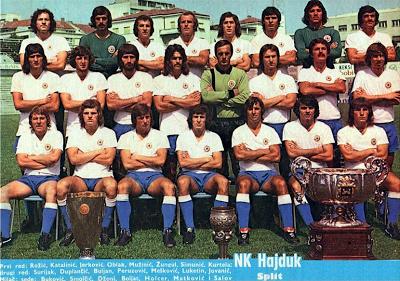 1974/75 Hajduk Split Best football team, Soccer club
