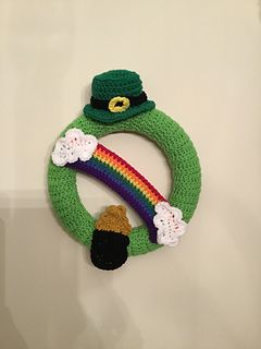 Photo of St. Patrick's Day / March Wreath … pattern by Rilla Edwards