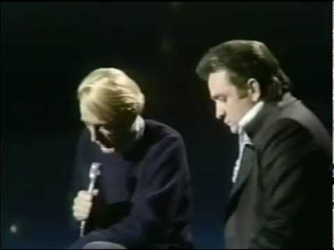 1970 Rod McKuen and Johnny Cash in The Johnny Cash Show 03