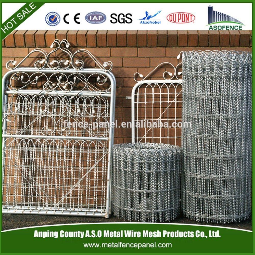 ornamental wire double gate - Google Search