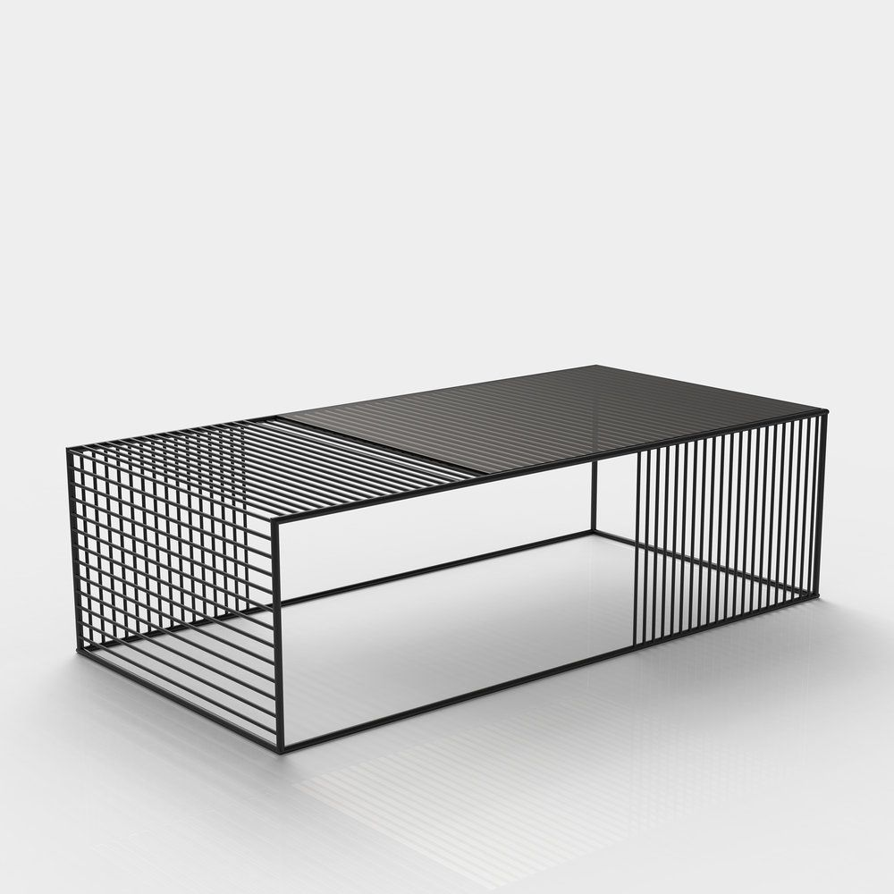 Wire Coffee Table Small Rectangle Iacoli Mcallister Coffee Table Wire Coffee Table Steel Furniture [ 1000 x 1000 Pixel ]