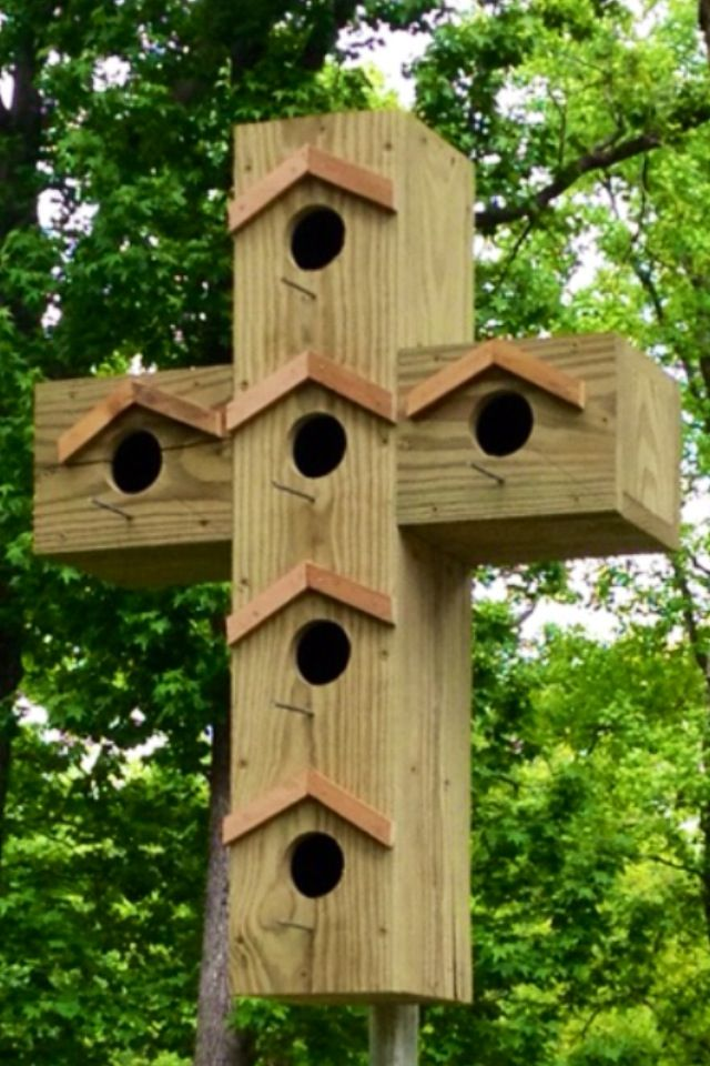 Cross Bird House Bird Houses Diy Bird House Plans Bird House