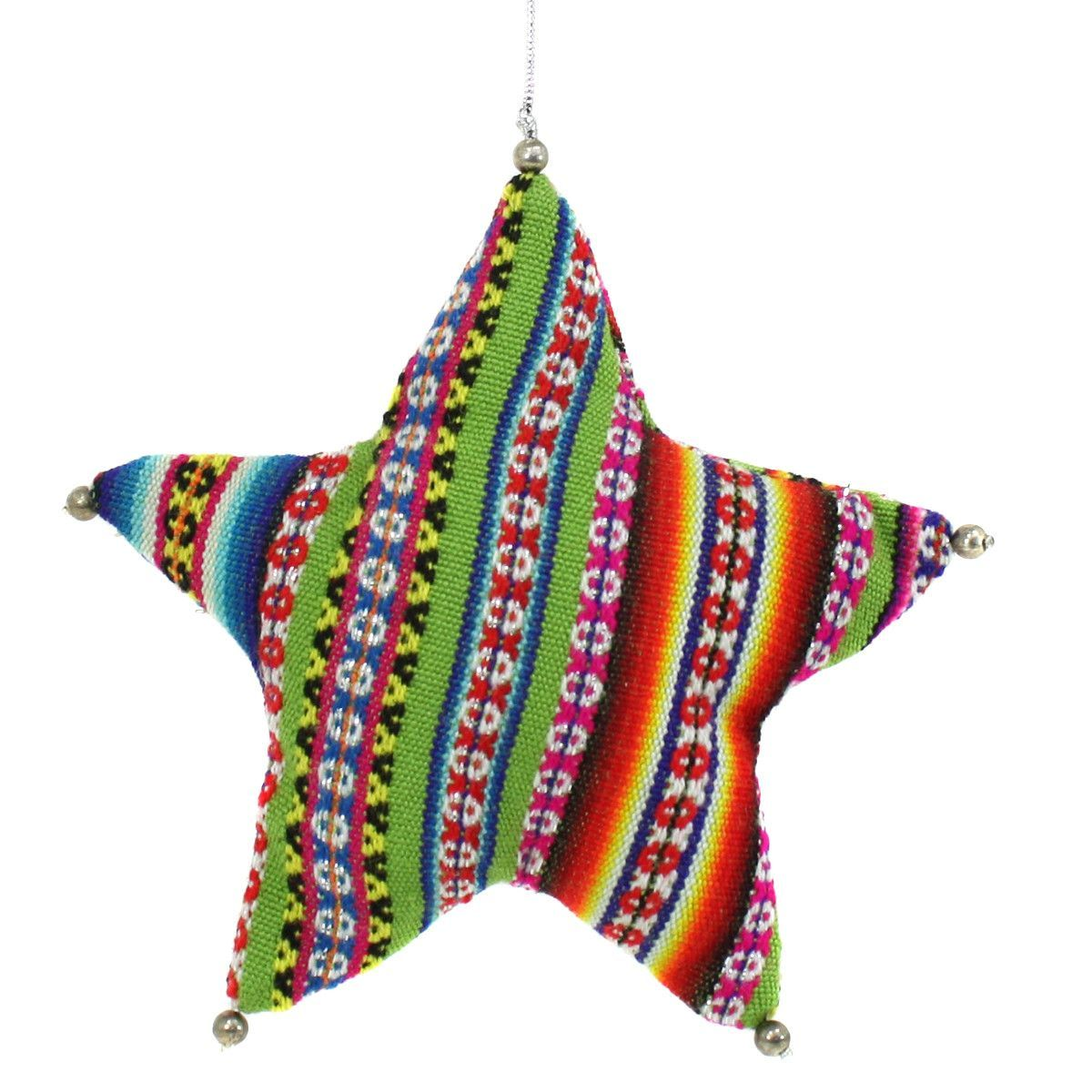 Peru Star Ornament | Star ornament, How to make ornaments ...