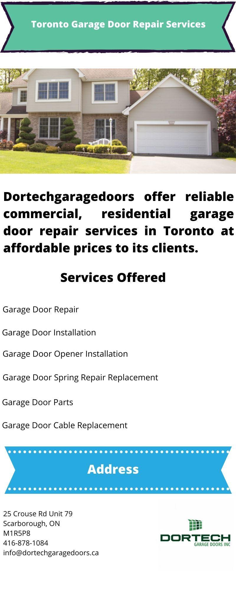 Toronto Garage Door Repair Garage Door Repair Door Repair Garage Door Spring Repair