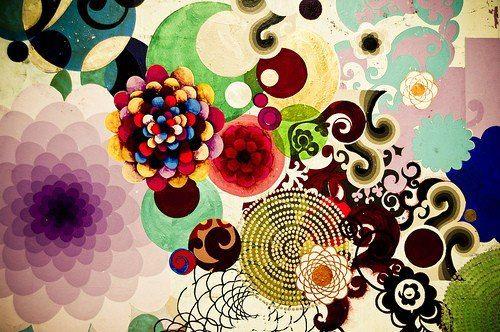 """""""Com cada pessoa que interagimos, existe uma troca única, um despertar que nos possibilita descobrir um novo olhar, um novo pedaço de nós. Isto é muito fascinante, pois percebemos como somos um caleidoscópio cheio de cores e matizes. Todo relacionamento é uma benção pois traz a possibilidade de vivenciar a humanidade dentro de nós, sem separações ou preconceitos."""" (Libertária)  Pintura: Beatriz Milhazes"""