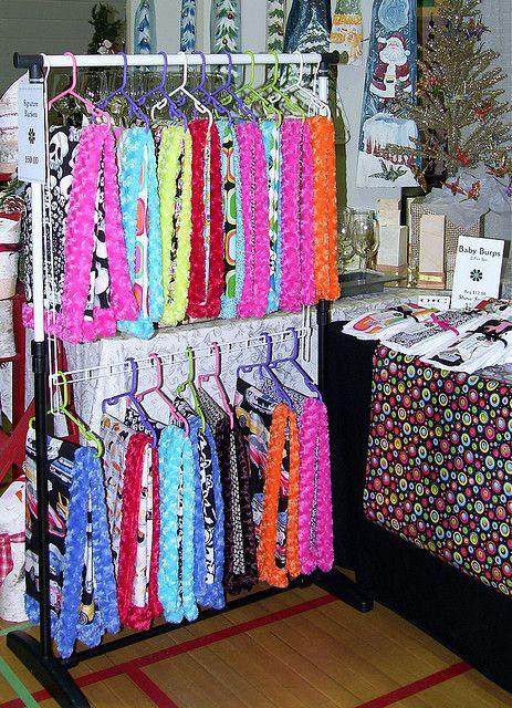 Signature Blanket Display Craft Booth Displays Fair
