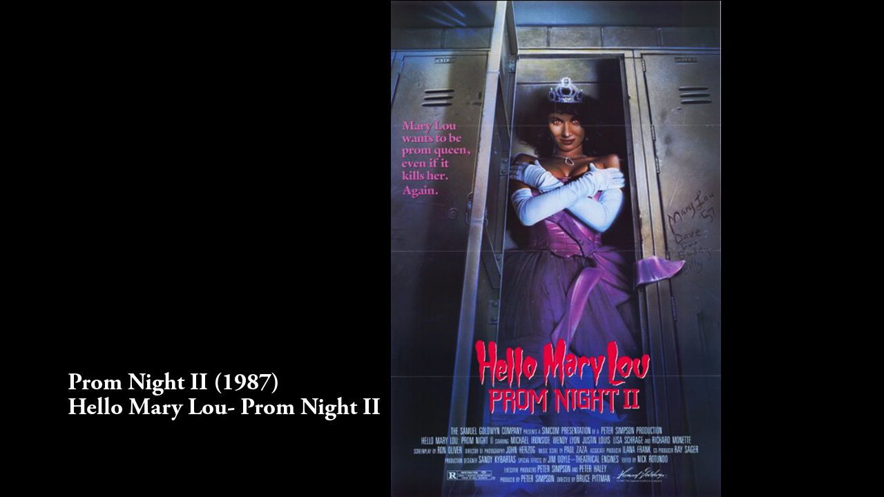 Pin by After Dark Analysis on Horror Movie Posters 1987 ...