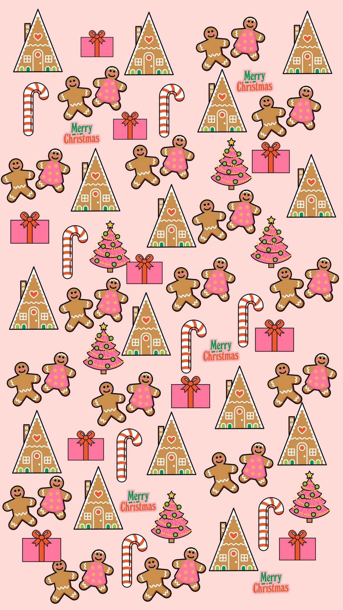 Free Christmas Phone Wallpapers - Dizzybrunette