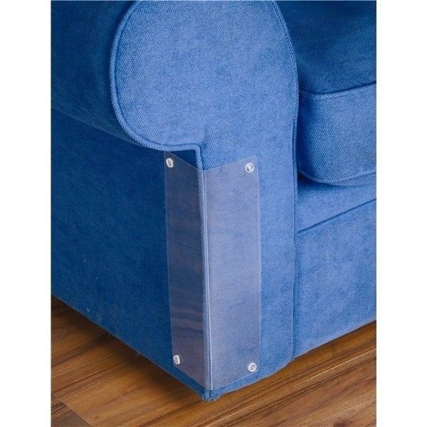 Cat Scratch Furniture Couch Sofa Corner Protector / Deterrent   Set Of 4  These Are So
