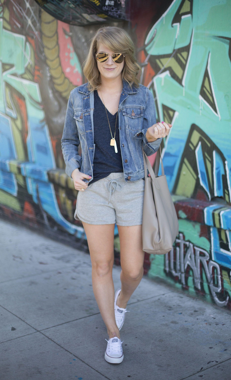 6a82b0b4fb3c71 sweat shorts | fashion. | Summer shorts outfits, Fashion, Shorts ...