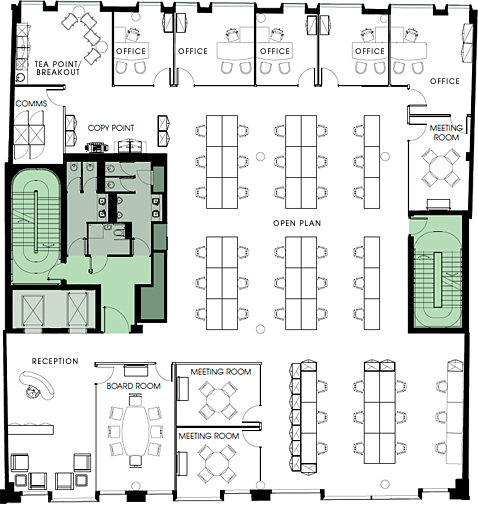 Floor Plan Of Office Layout T M V I Google Plan Office Layout Pinterest