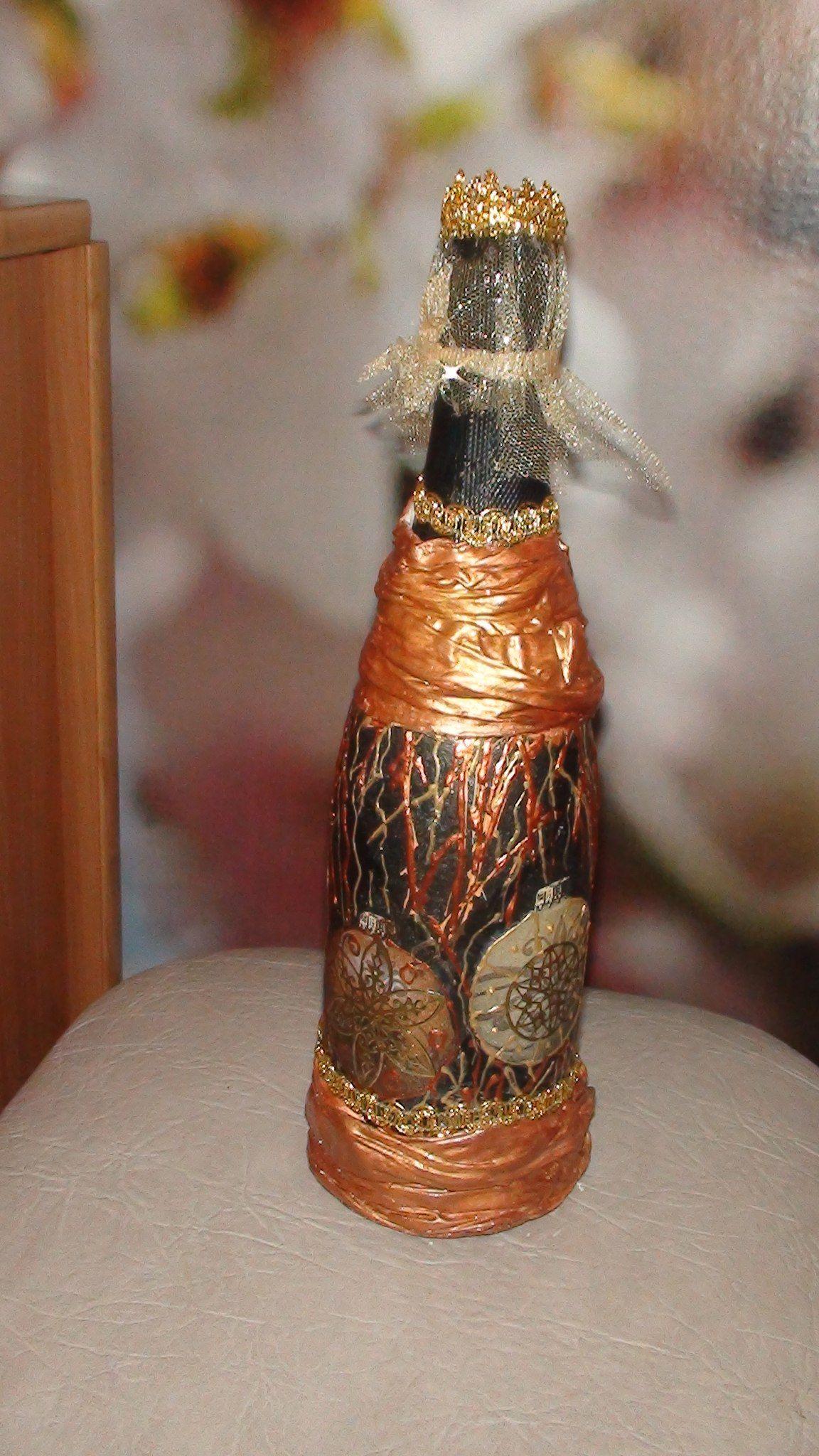 Новогодний Декор шампанского | ВКонтакте