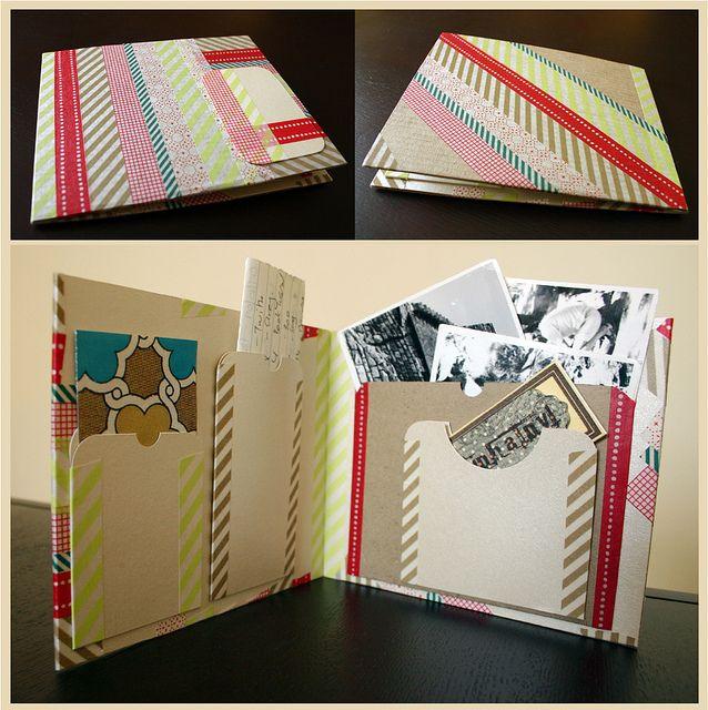 Masking Tape + Notebook