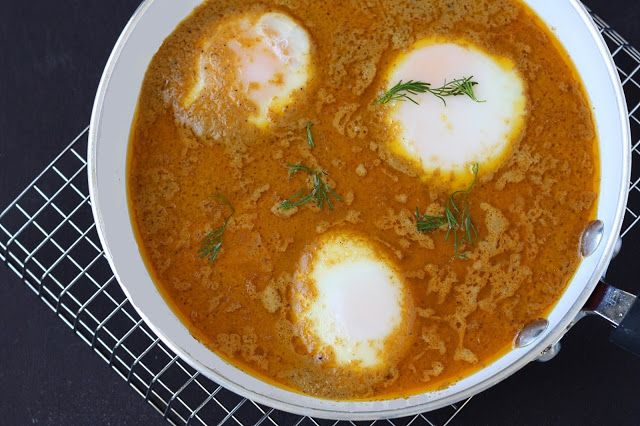 Food Fashion Party: EGG Curry - in a Hurry