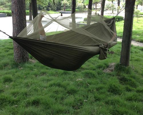 Be cozy and comfy up off the ground on your next outing,  Keep the bugs away with the attachable mosquito net.  Only$49.99 with free shipping!