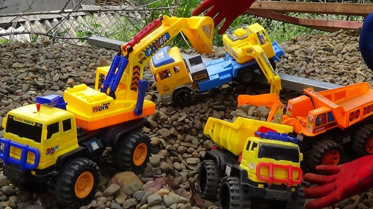 Backhoe Loader For Children Backhoe Excavator Bulldozer Trucks Toy Toy Trucks Backhoe Loader Backhoe