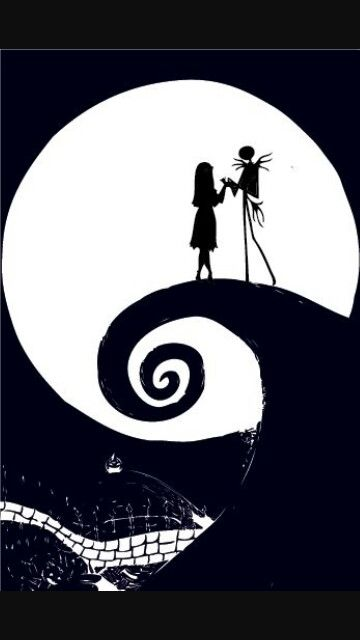 Nightmare Before Christmas Aesthetic Wallpaper.Nightmare Before Christmas Halloween Disney