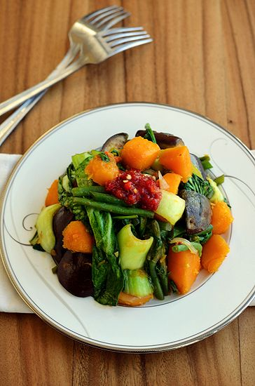 Vegetable Stir Fry - Paleo Fondue