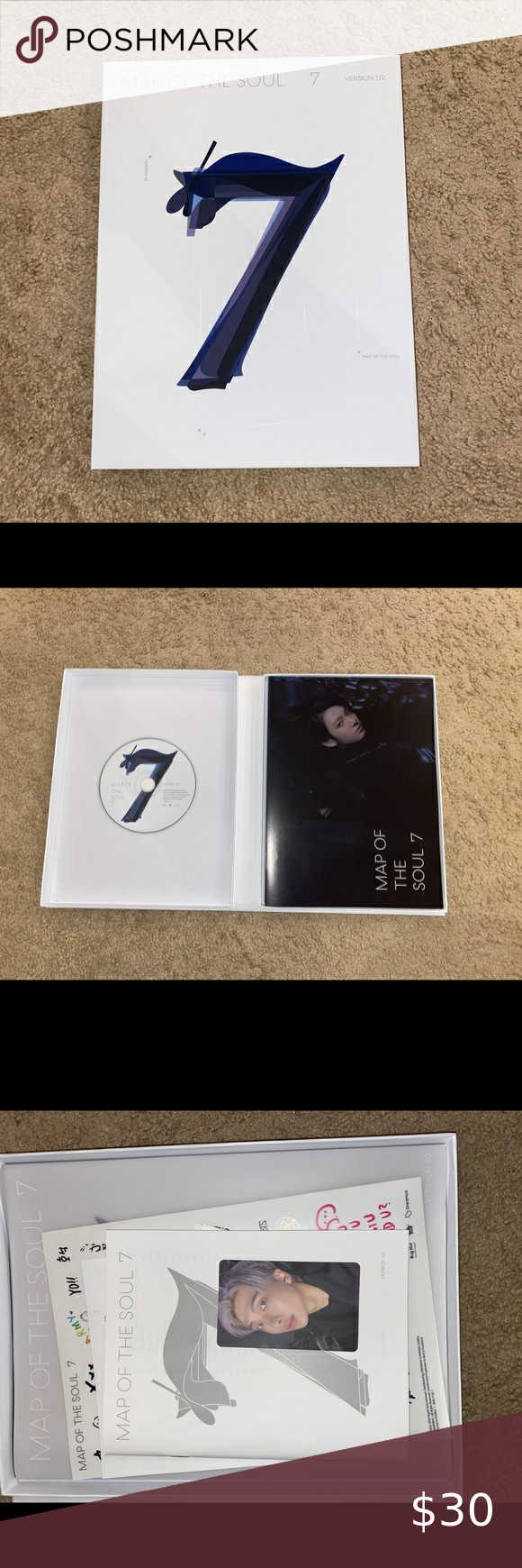 Map Of The Soul 7 Bts New Album Bts Photocard Photo Book