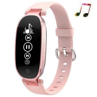 44ae896d0a6e Barato Señoras reloj inteligente corazón pulsera de mujer pulsera reloj  inteligente de Fitness banda inteligente Pk
