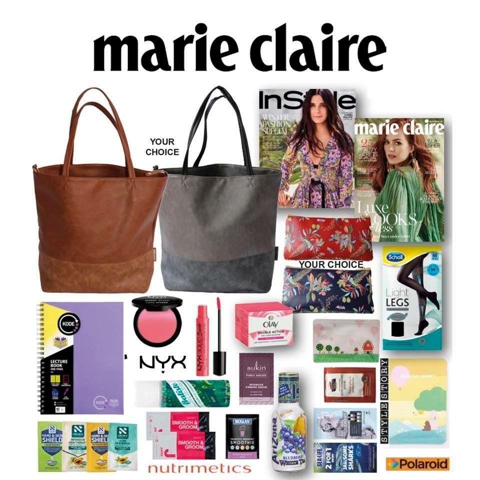 Korean Masks in the Marie Claire Showbag Korean beauty