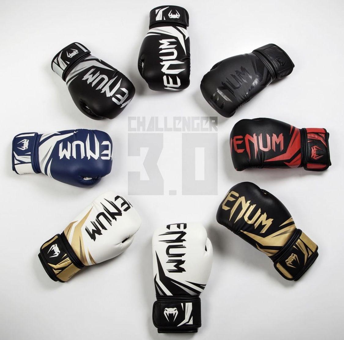 Venum Challenger 3 0 Boxing Gloves Black Black In 2020 Boxing Gloves Muay Thai Gloves Boxing Equipment