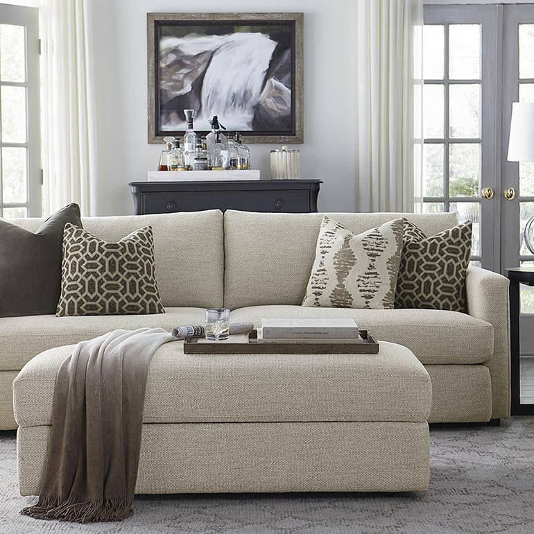 Living Room Furniture Designs: Allure Sofa By Bassett