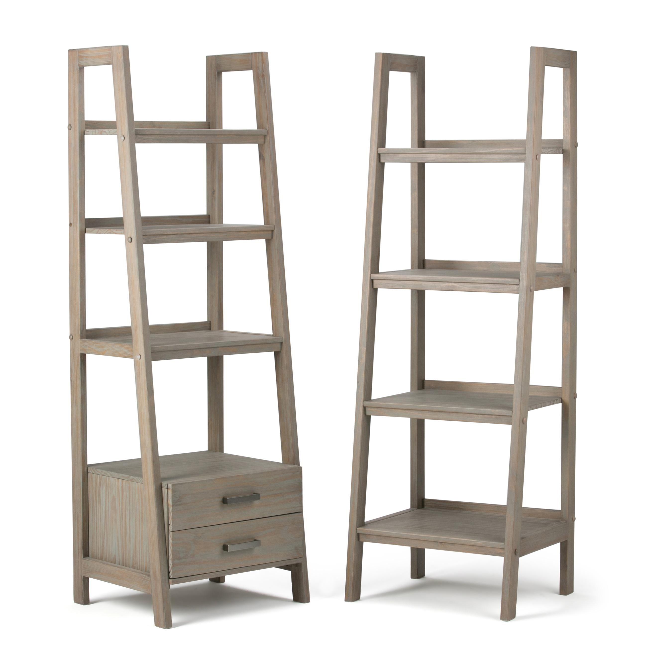 Pin By Dixon Yarmouth On Bathroom Remodel Shelves Ladder Shelf Wood Ladder Shelf