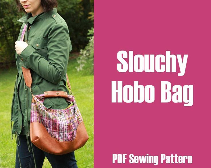 Free Slouchy Hobo Bag Pattern  WhatTheCraft#Eyes