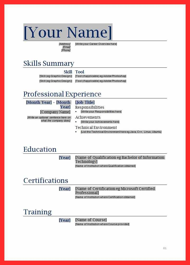 Fill In Resume Form Resume Format Free Printable Resume Functional Resume Template Free Printable Resume Templates