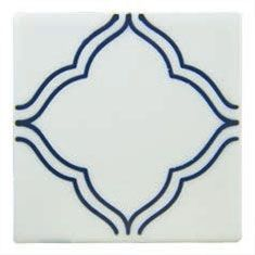 a handmade tile which you can mix and match with other designs from the same series