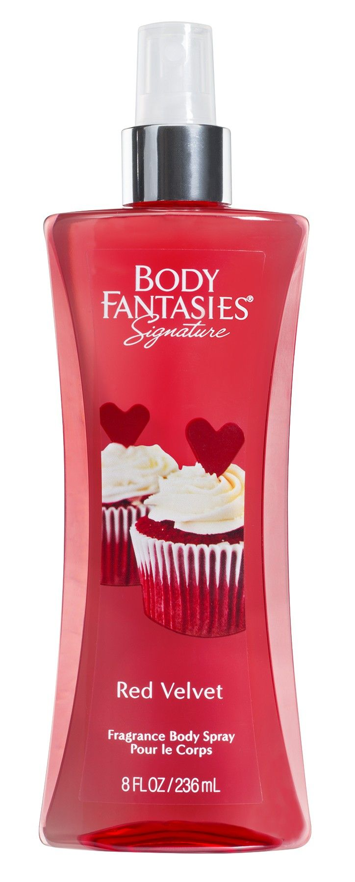 Body Fantasies Signature 8oz Red Velvet Fragrance Body Spray