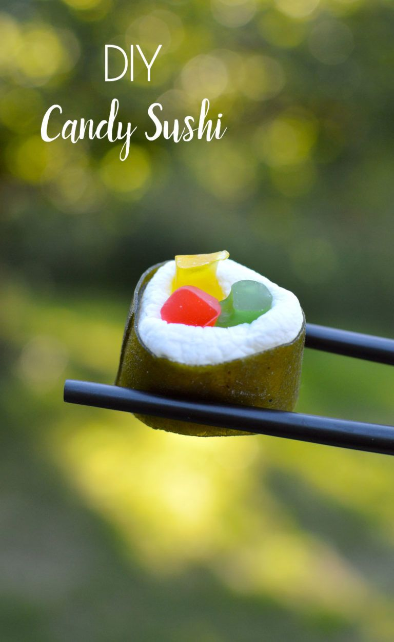 DIY Candy Sushi & Brilliant Summer Treats #candysushi