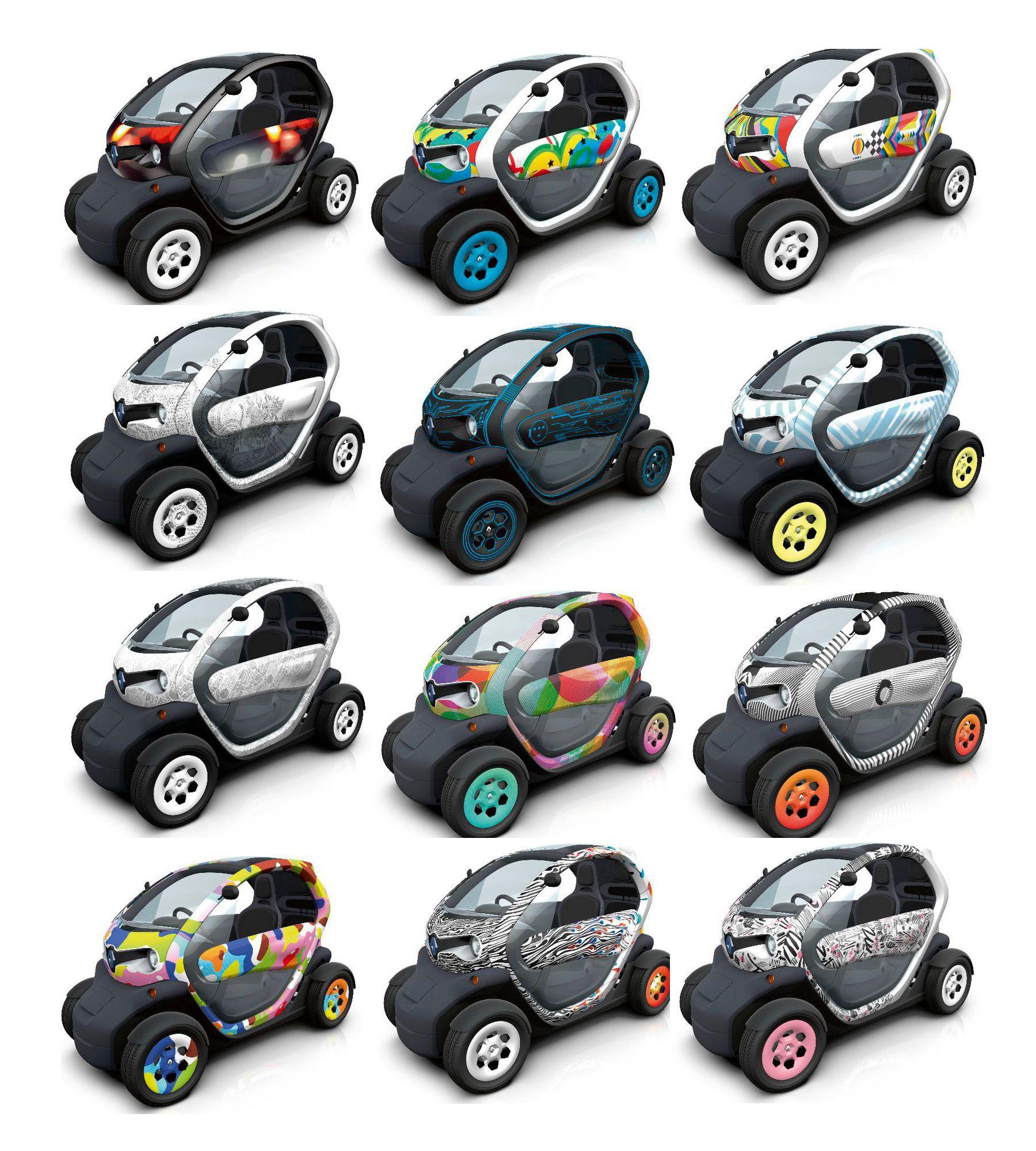 Renault Twizy Voiture