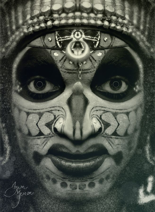 """Theyyam artist.        """"The Archive Series"""" is a personal project which involves a series of portrait images of tribal or folk artists from across India.  The focus of the project is to raise awareness about these beautiful art forms which face an uncertain future.         Please support and share.  Thank you."""