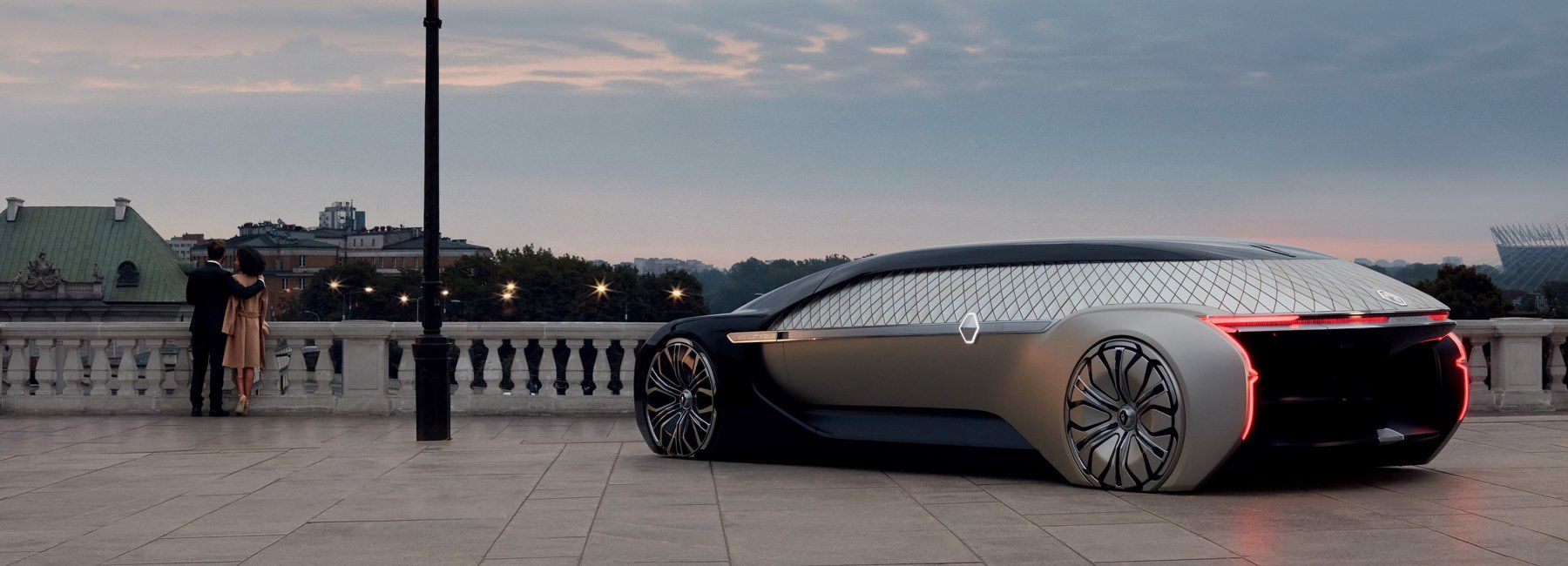 Renault S Ez Ultimo Car Concept Is A Self Driving Luxury Lounge Car Renault Self Driving