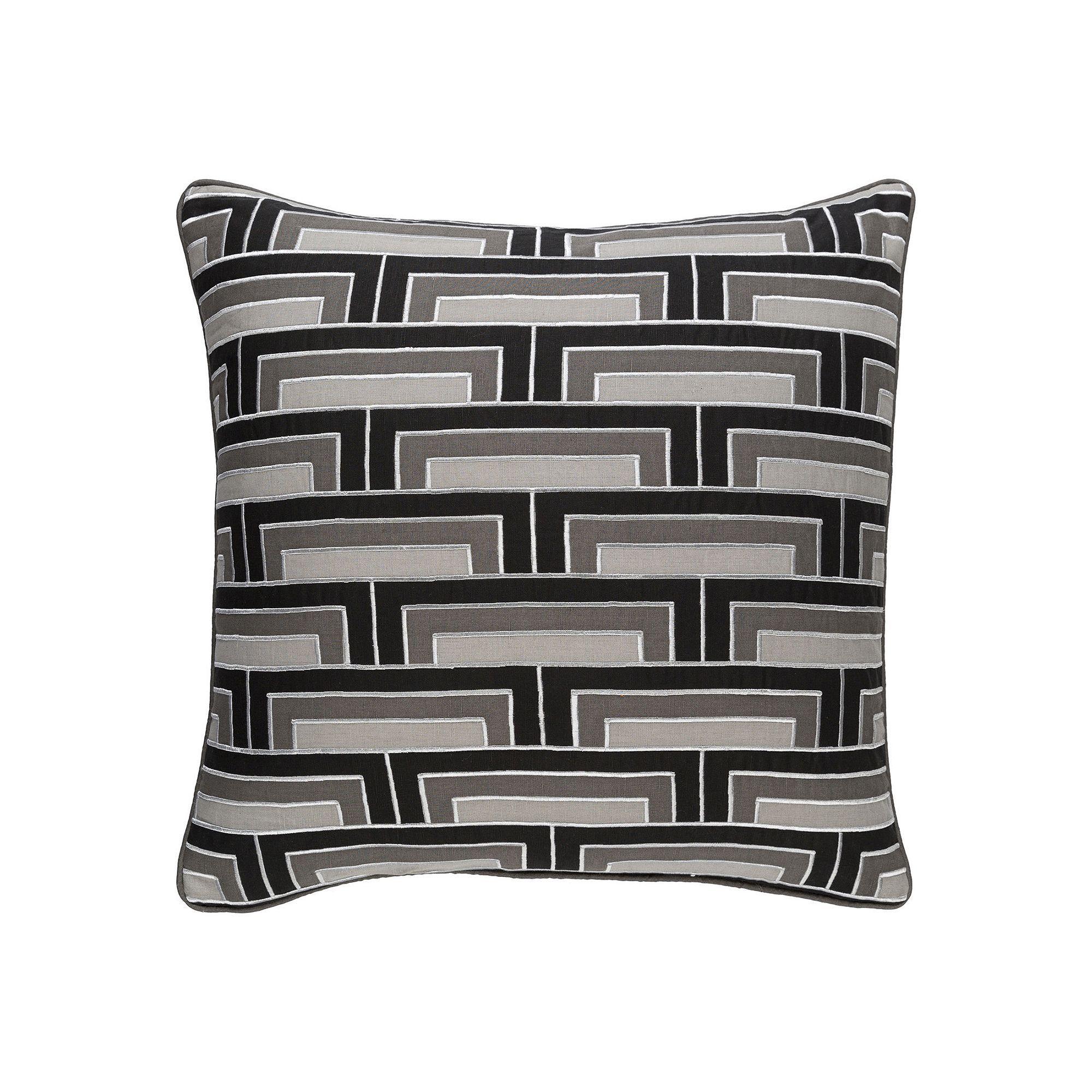 Decor 140 Alluvia Throw Pillow, Black