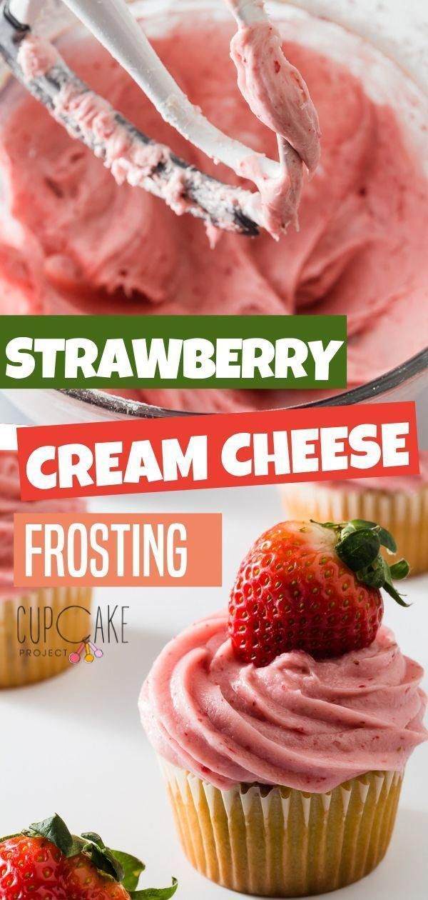 A cream cheese frosting with a thick creamy texture and is perfect for piping on cakes and cupcakes! This recipe is intensely strawberry flavored made with freeze dried strawberry powder.  Create wonderful food and desserts with this frosting recipe! #cupcakerecipes #freezedriedstrawberries A cream cheese frosting with a thick creamy texture and is perfect for piping on cakes and cupcakes! This recipe is intensely strawberry flavored made with freeze dried strawberry powder.  Create wonderful fo #freezedriedstrawberries
