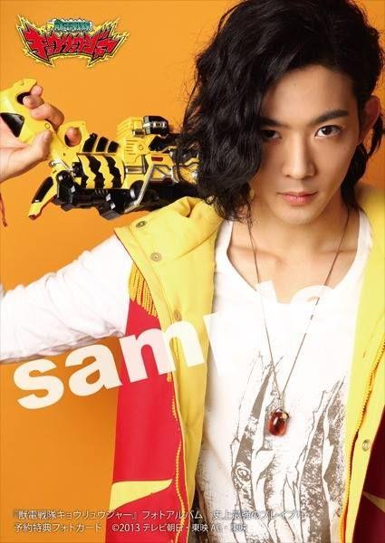 Daigo Kiryu Kyoryu Red Played By Ryo Ryusei