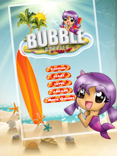 Bubble Pop Guppies game was created based on one of Atari
