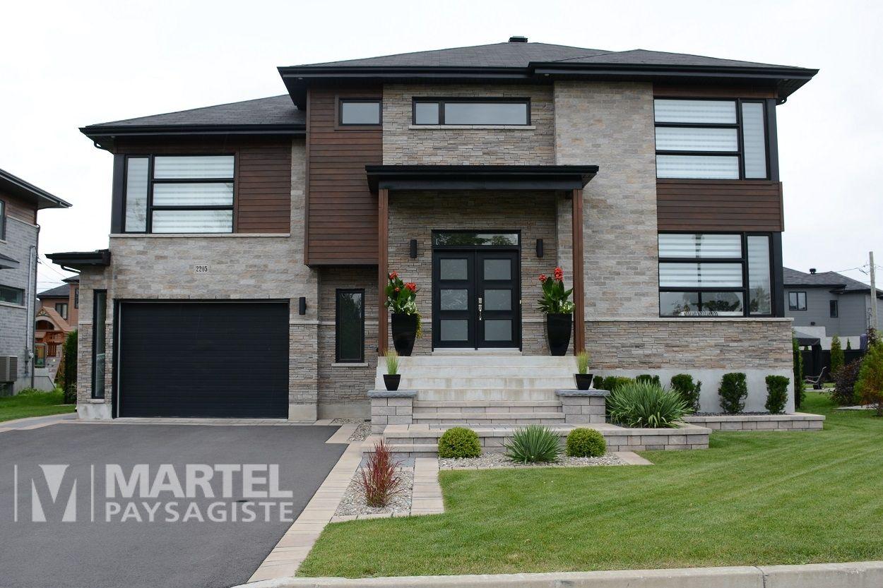 Elegance Raffinee Martel Paysagiste House Designs Exterior Modern House Exterior Facade House