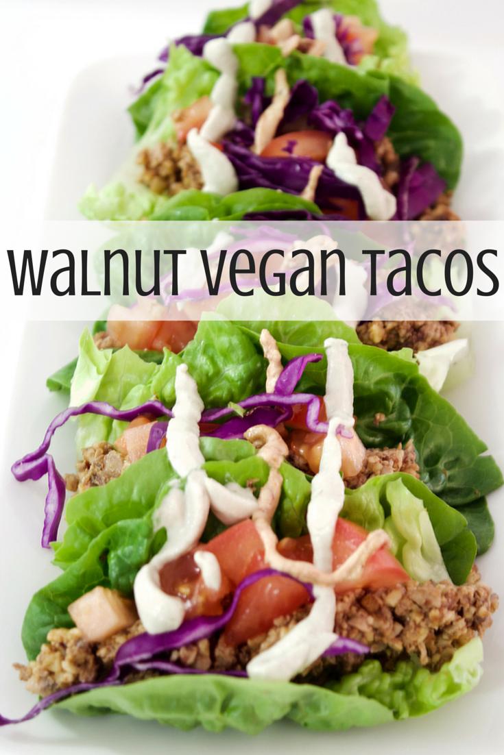 Vegan Tacos | Recipe | Healthy eating recipes, Vegan ...