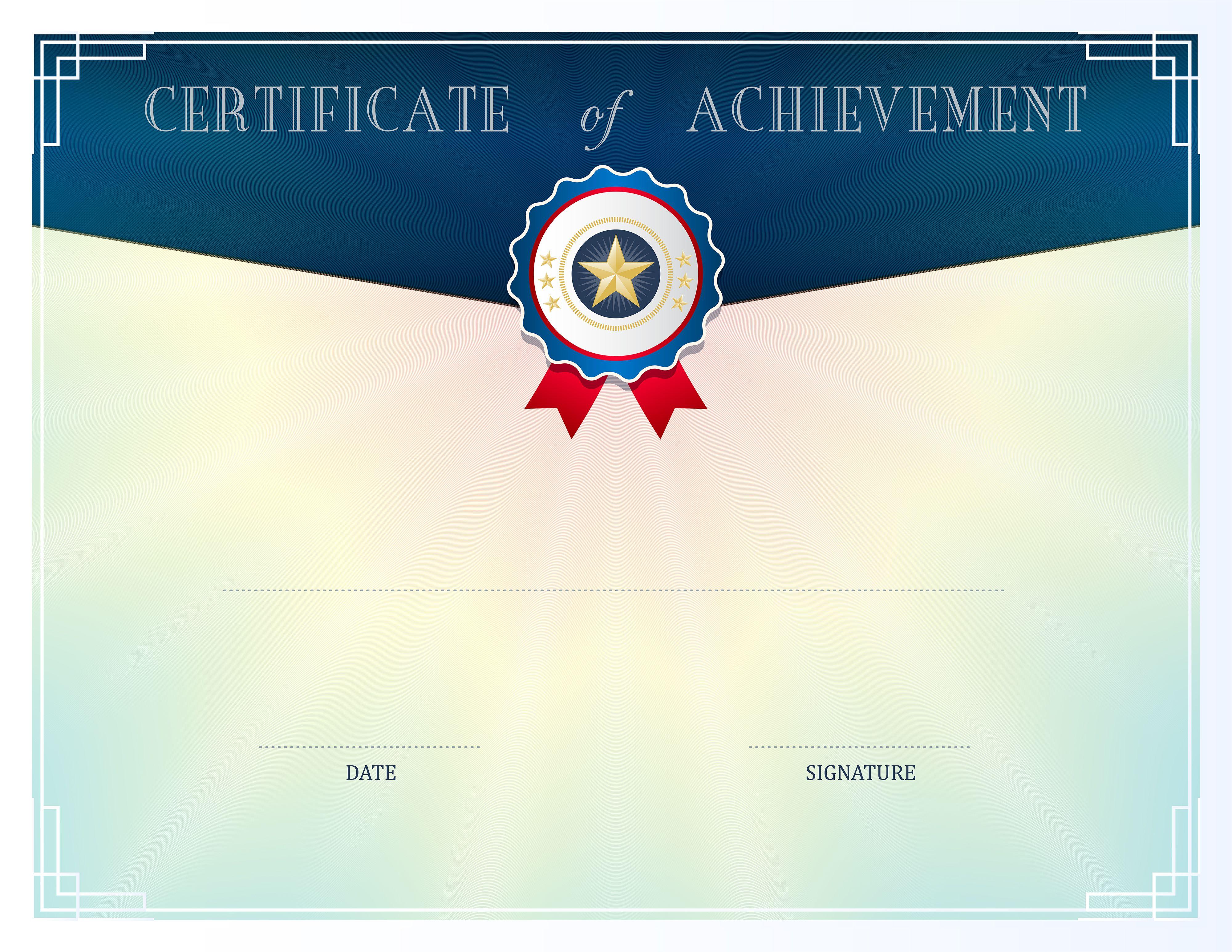 Blue Certificate Template Clip Art Cr Pinterest Certificate
