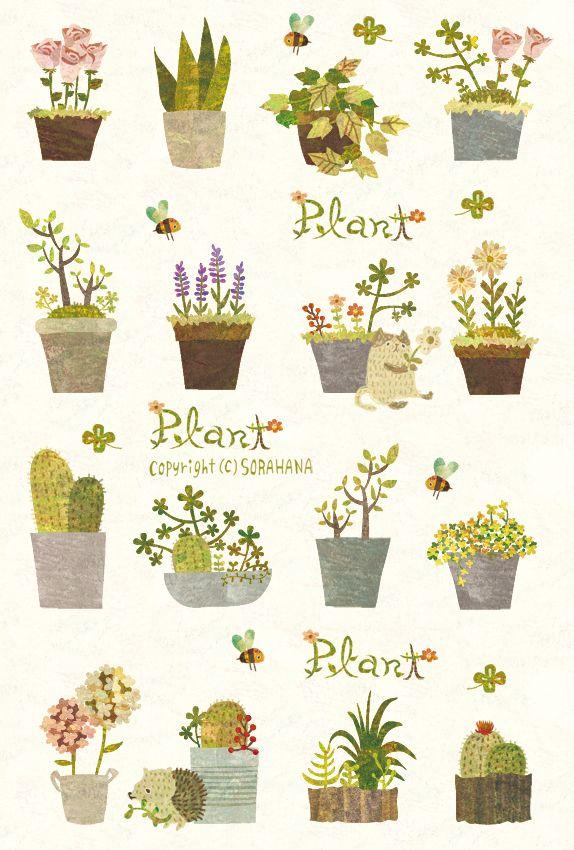 Plant.* by Megumi Inoue. http://sorahana.ciao.jp/