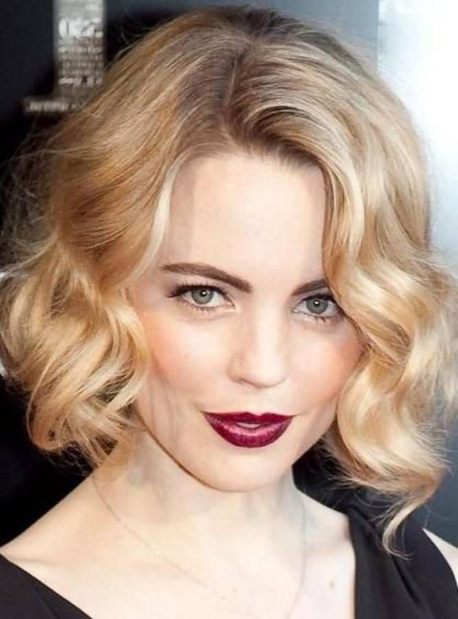 Formal Hairstyles For Short Hair How To : Celeb curly formal hairstyles for medium hair celebs