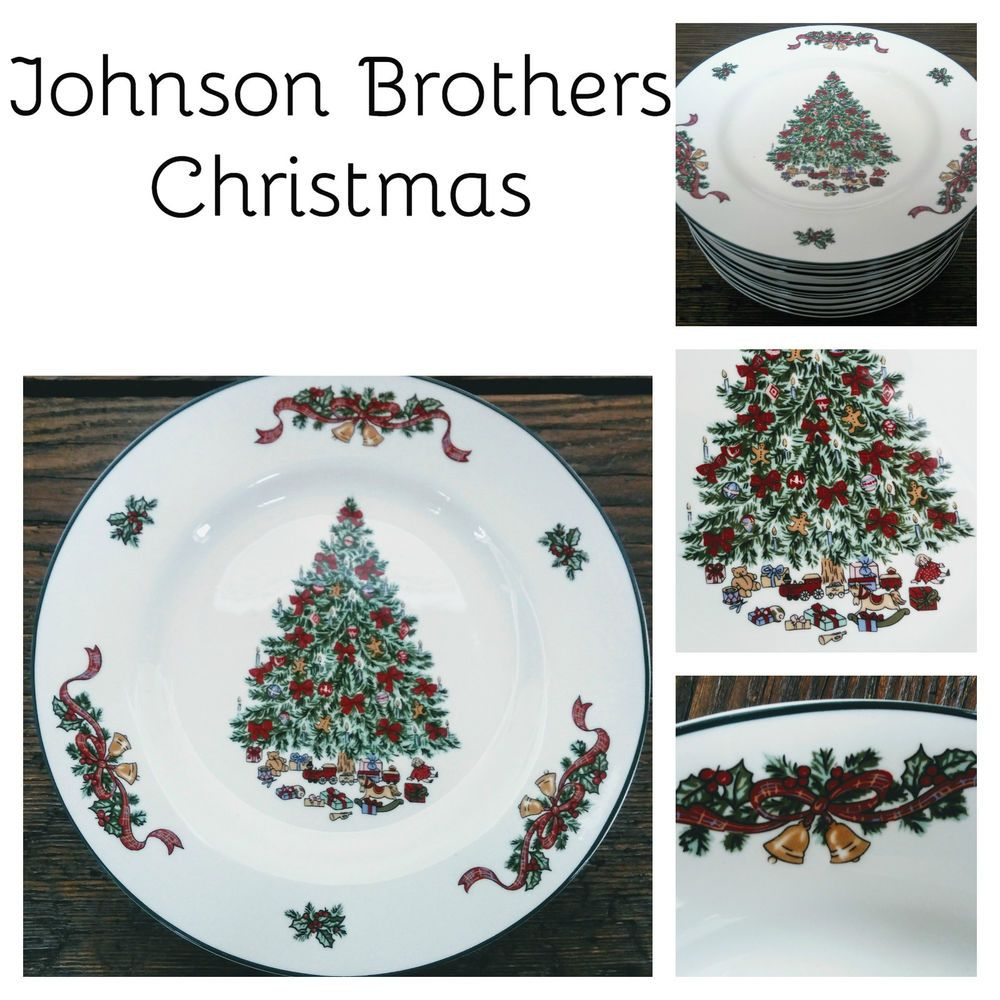 Details about 2 NEW OTHER- JOHNSON BROTHERS VICTORIAN CHRISTMAS ...