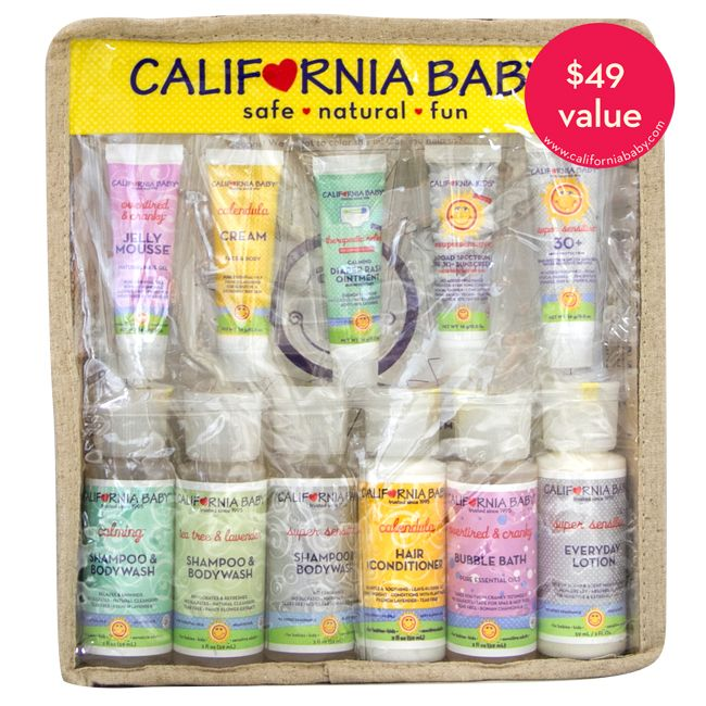 Deluxe Travel Set California Baby Traveling With Baby Travel Gifts