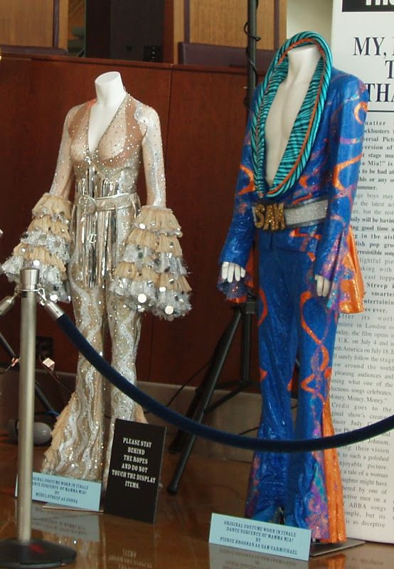 Some Of Abbas Most Famous Costumes Are On Display For People To